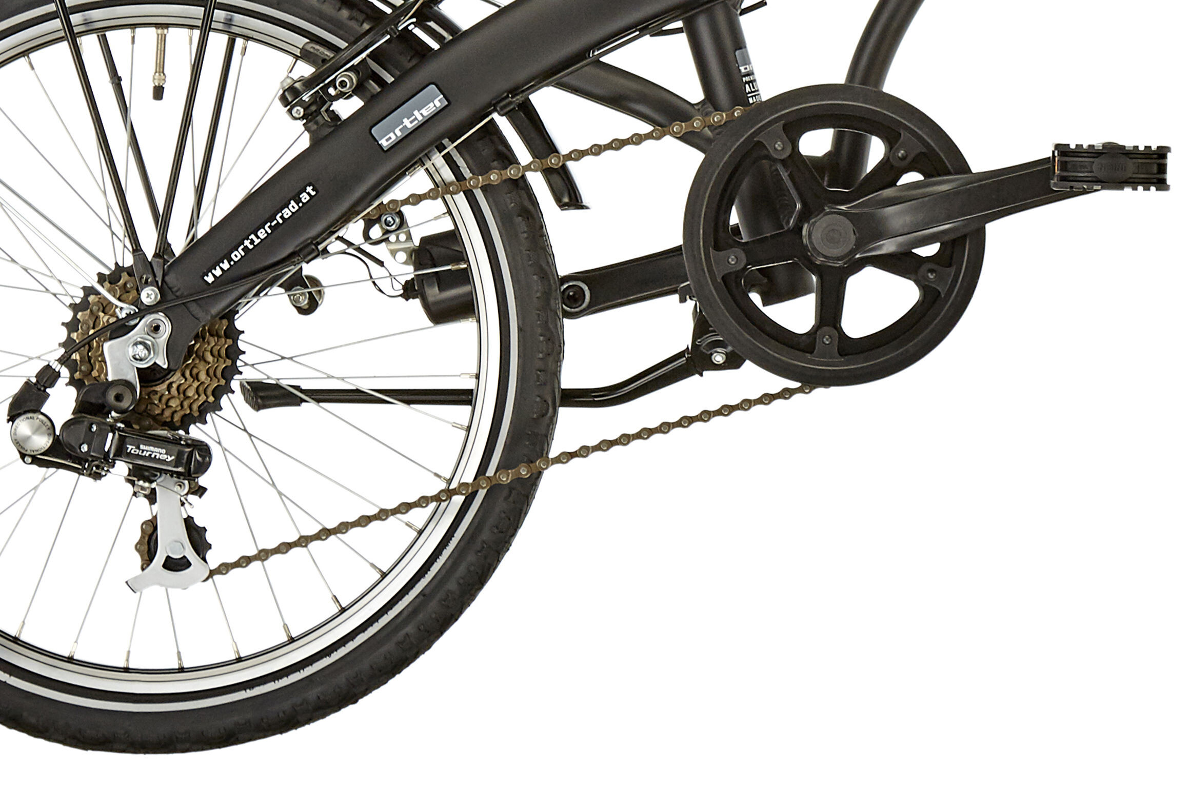 Ortler Norwood 20 Bicicletas Plegables Negro Mate